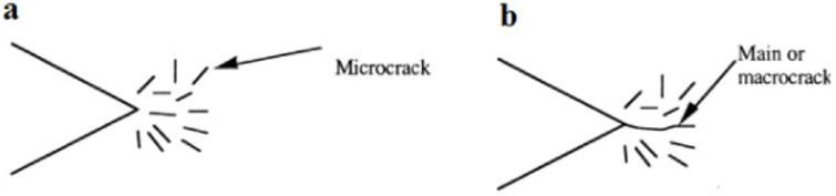 Effect of orientation and age on the crack propagation in