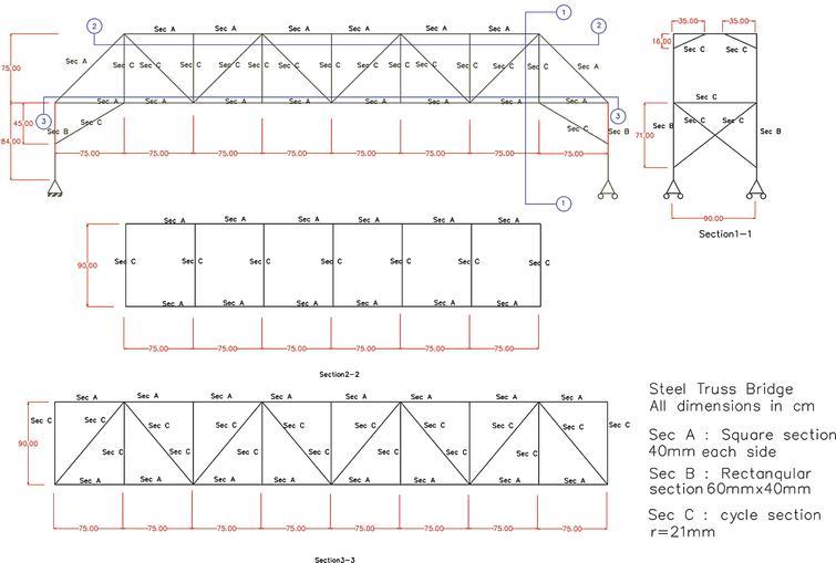 Damage detection of a truss bridge via vibration data - IOS Press