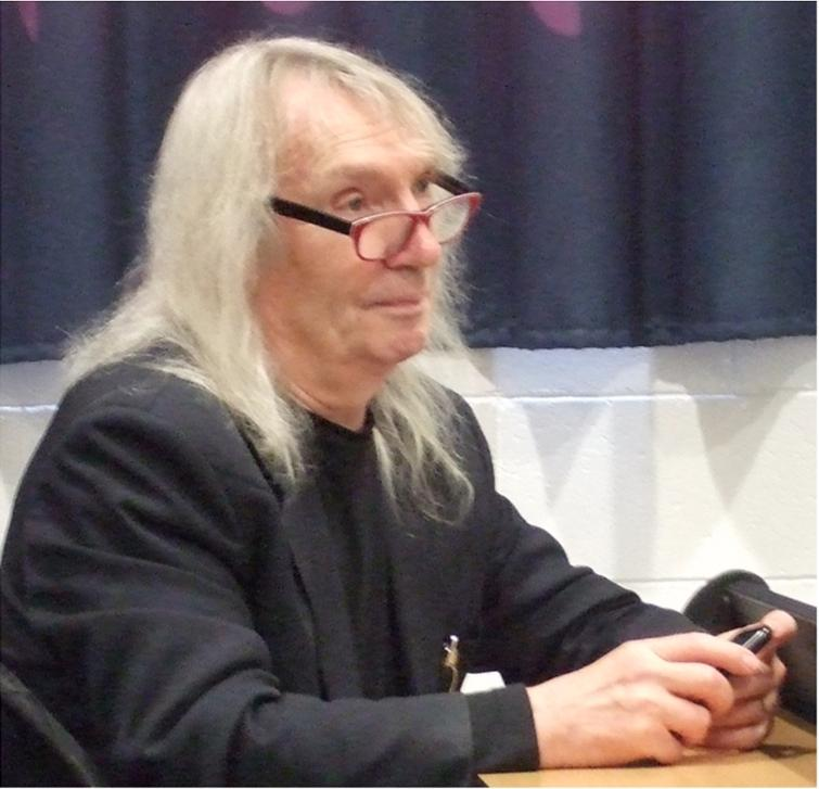 S. Barry Cooper at CiE 2013 in Milan. Photo taken by Peter van Emde Boas, July 2013.