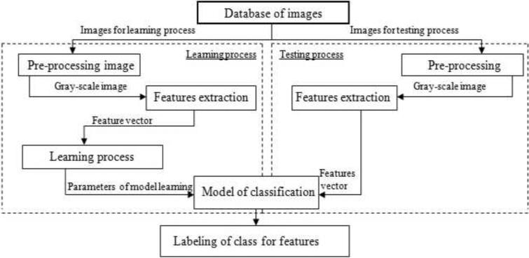 Machine learning algorithms application to road defects