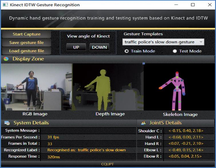 Dynamic hand gesture recognition using
