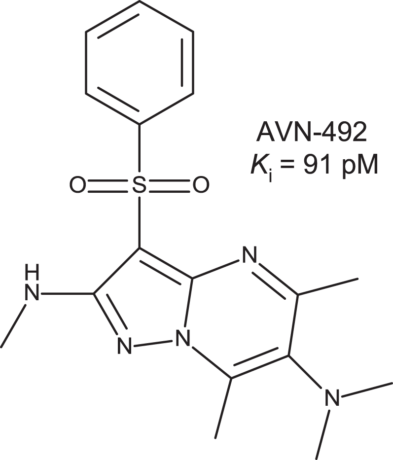 Avn 492 A Novel Highly Selective 5 Ht 6r Antagonist Preclinical