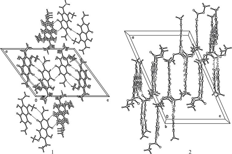 Two novel chromone derivatives: Crystal structures and anti