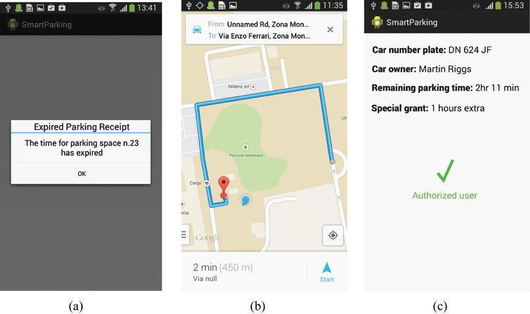 A Novel IoT-aware Smart Parking System based on