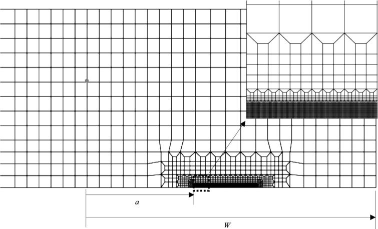 Numerical crack growth predictions in parent and weld