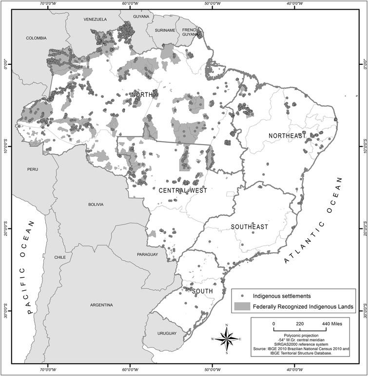 The identification of the Indigenous population in Brazil's