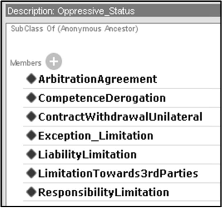 list of ascribed statuses