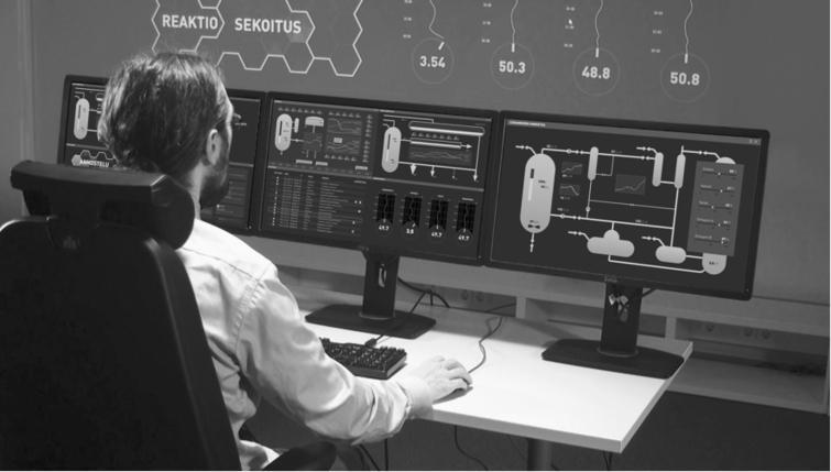 Production monitoring.