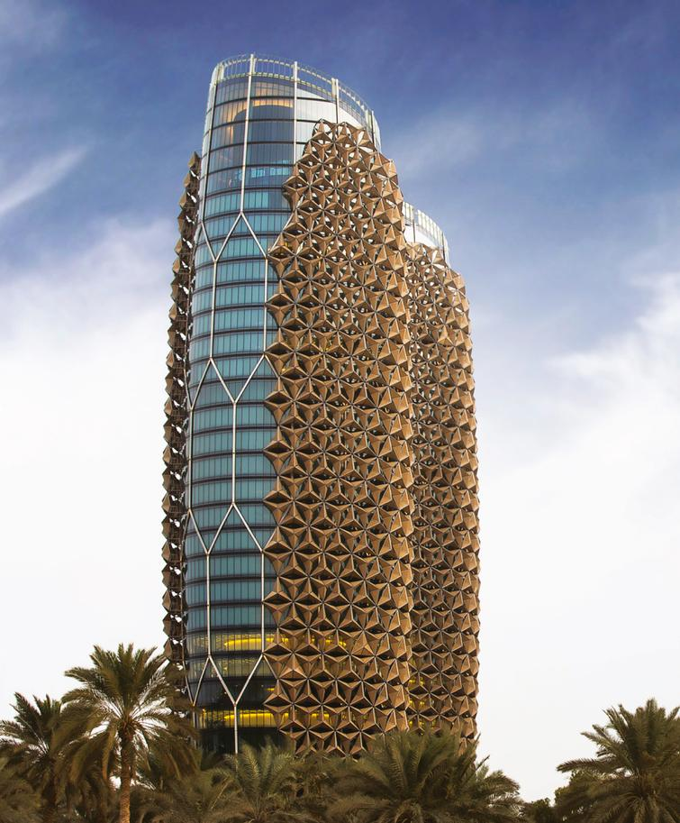 The Al-Bahr Towers is a high performance design inspired by its context.