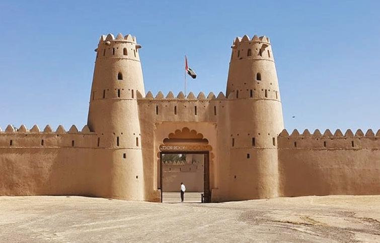 The Al-Jahili Fort demonstrates local building traditions.