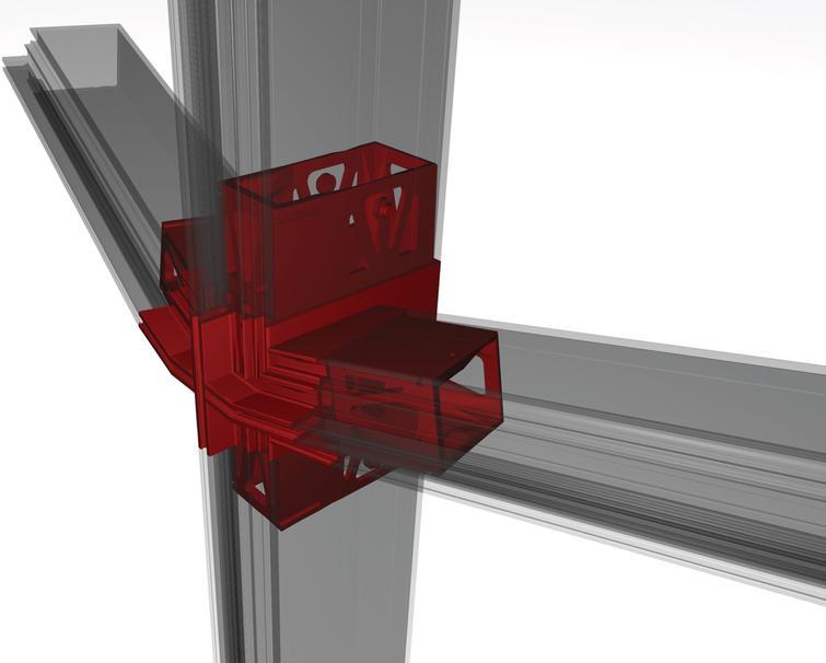 Rendering of Nematox facade node.