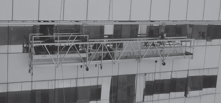 Building maintenance unit. Source: Rostek.