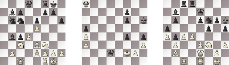 R8: a) JONNY – RAPTOR 16w, b) HIARCS – KOMODO 80w and c) SHREDDER – GRIDGINKGO 27w.