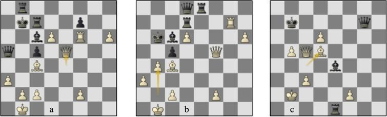 Game 18 St-Lc (a) p36b, (b) p40b, (c) p47b.