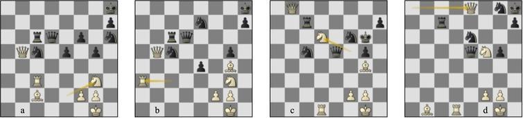 Game 78 St-Lc (a) p41b, (b) p45b, (c) p57b, (d) p63b.