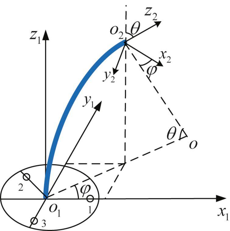 Kinematic model of single JS of SLA.
