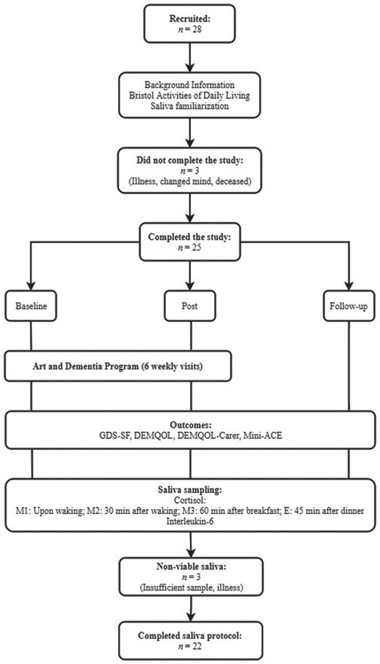 Study flow diagram