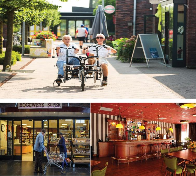 A day in the life of the De Hogeweyk Dementia Village in Weesp, The Netherlands. Reprinted with permission from the Hogeweyk® Care Concept.