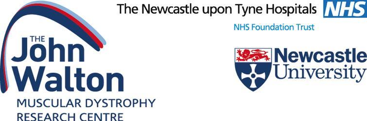 John Walton Muscular Dystrophy Research Centre logo.
