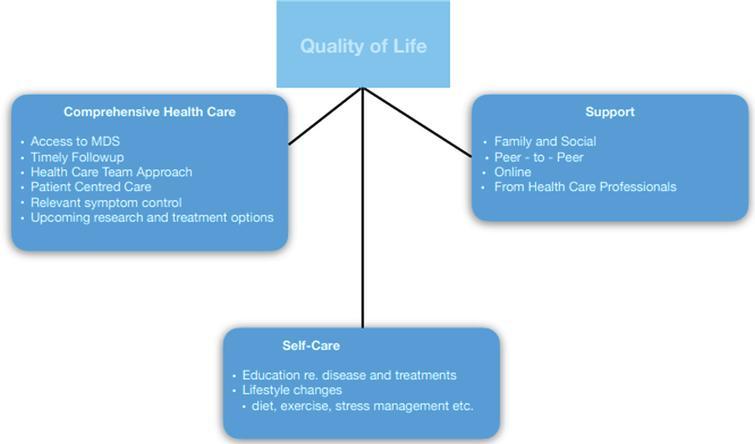 Factors Contributing To QoL.