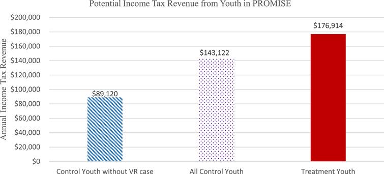 Potential Youth Income Tax Revenue.