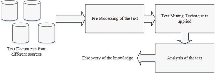 Text mining process.