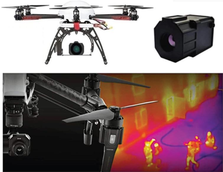 Examples of multi-purpose drones.